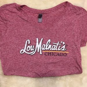 Lou Malnatis Chicago Pizza T-shirt Sz Small